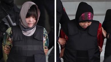 Las presuntas asesinas del hermanastro de Kim Jong-un en riesgo de acabar en la horca