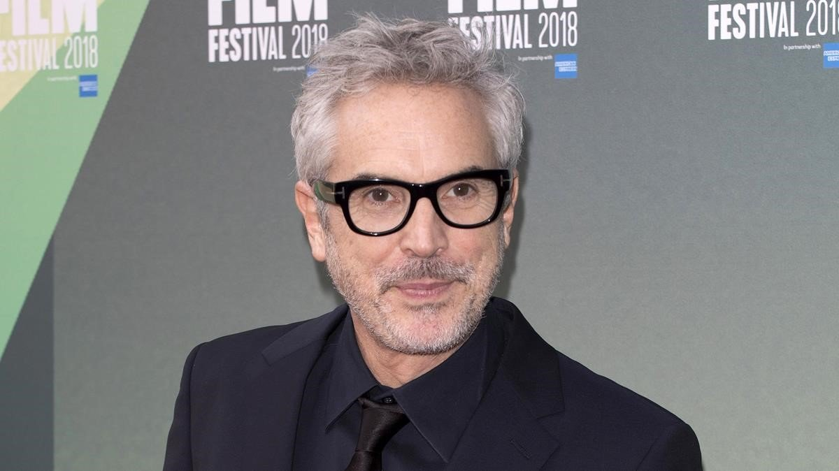 Alfonso Cuarón, en Londres, el pasado 13 de octubre