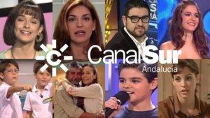Algunas de las estrellas televisivas que estrellas televisivas que nacieron en Canal Sur.