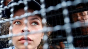 La bielorrusaAnastasia Vashukevich cuando fue detenida en Tailandia.