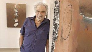 El artista catalán Josep Guinovart, en una imagen del 2005.