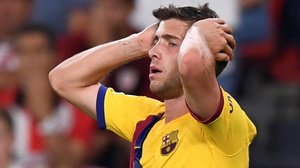 El Barça volvió a llevarse las manos a la cabeza en San Mamés.