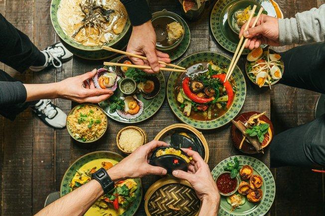 Boa-Bao tiene una enorme variedad de platos.