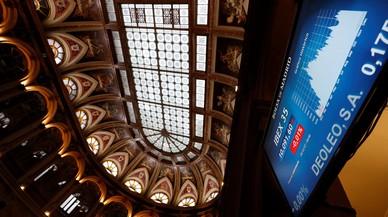 La bolsa española cerró el 2017 con un alza del 7,4%