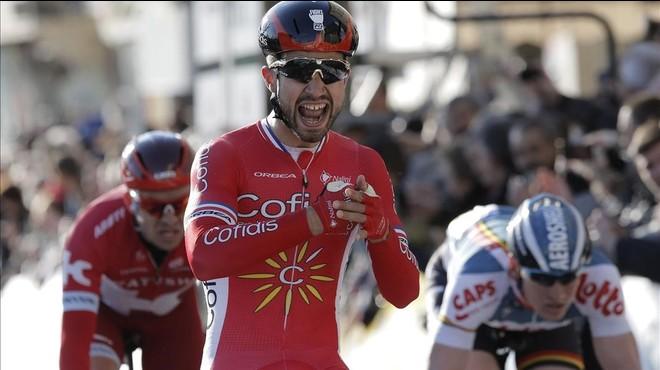 Bouhanni recompensa al equipo Cofidis con un triunfo en la París-Niza