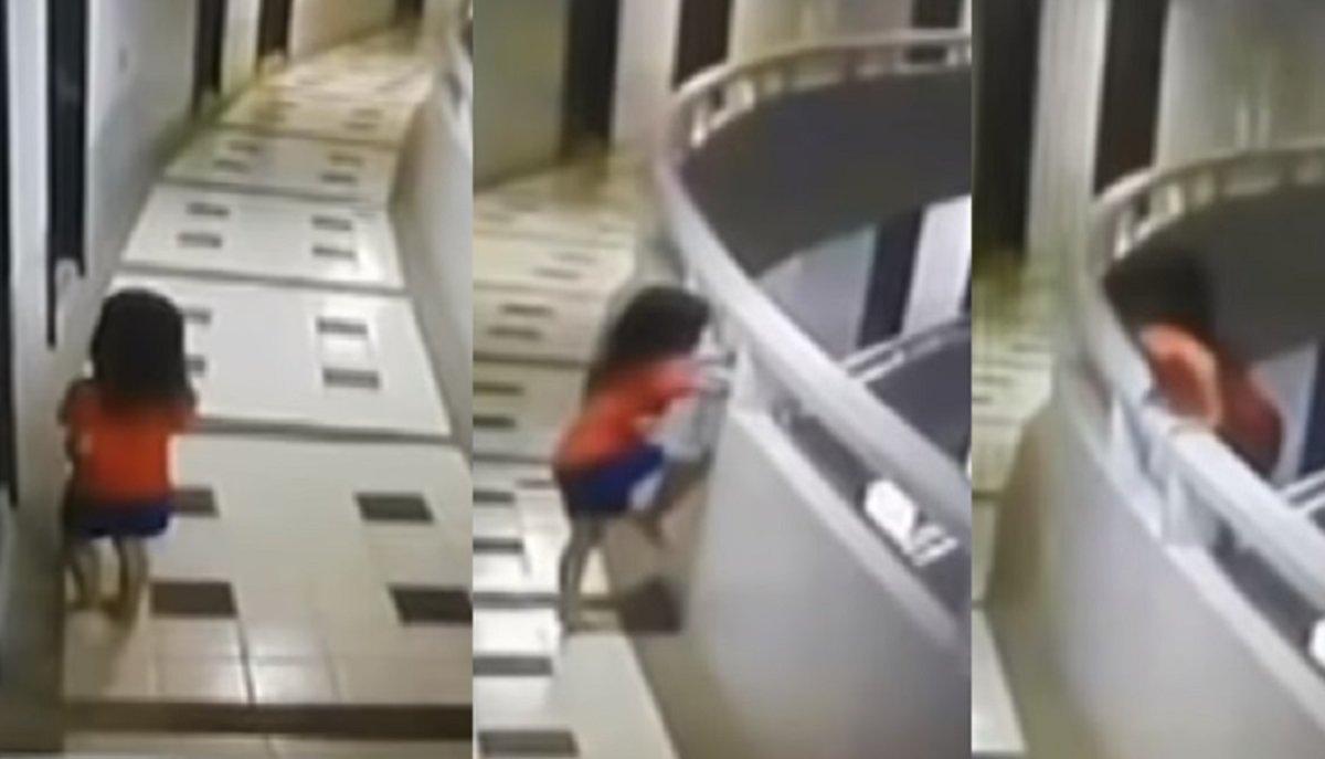 VÍDEO | Una nena cau des de l'onzè pis d'un hotel i sobreviu