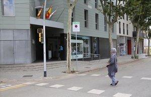 La calle de Pamplona, 114, donde un hombre ha sido apuñalado.