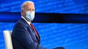El candidato demócrata, Joe Biden, durante el 'town hall' de Filadelfia.