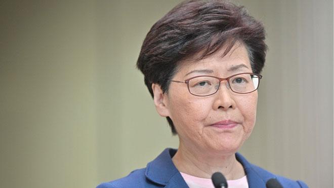 Carrie Lam da por muerta la polémica ley de extradición en Hong Kong.