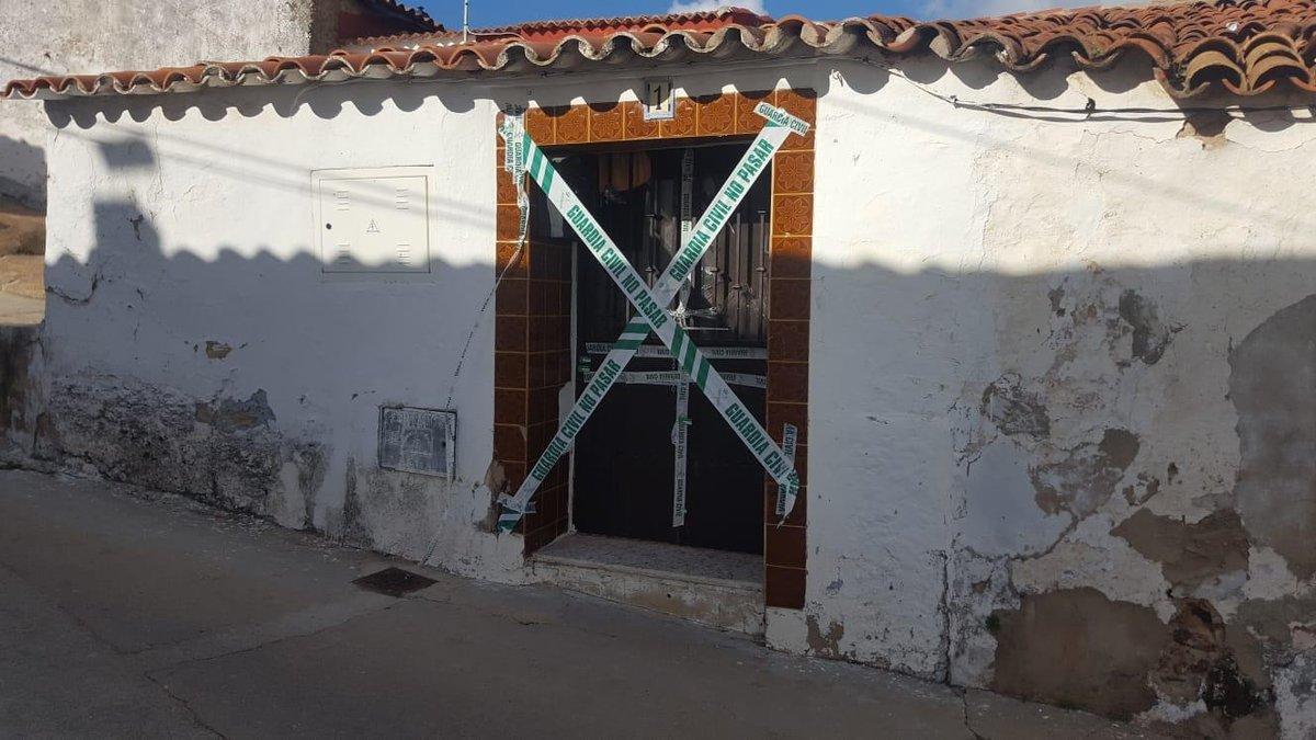 La casa de El Campillo (Huelva) donde fue asesinada Laura Luelmo.