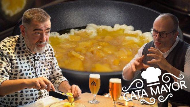 Cata mayor con Pau Arenós: tortilla de patatas