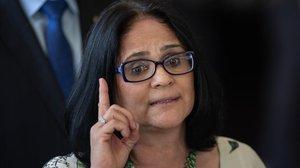 Damares Alves, la ministra brasileña de Mujer, Familia y Bienestar.