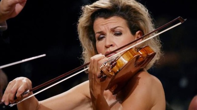 Una hipnòtica Anne-Sophie Mutter