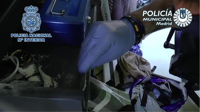 Desmantelados tres narcopisos en el distrito madrileño de Tetuán.