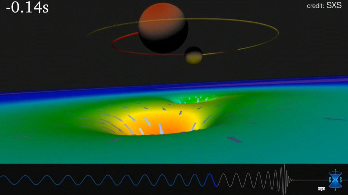 Detectan la mayor colisión de agujeros negros jamás observada.