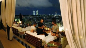 Terraza del Hotel Edition.