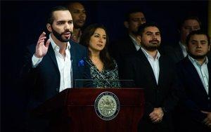 Nayib Bukele, el presidente de El Salvador.