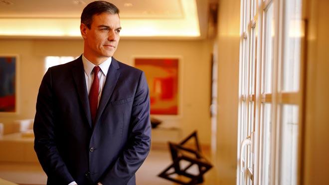 Entrevista con el presidente del Gobierno, Pedro Sánchez.