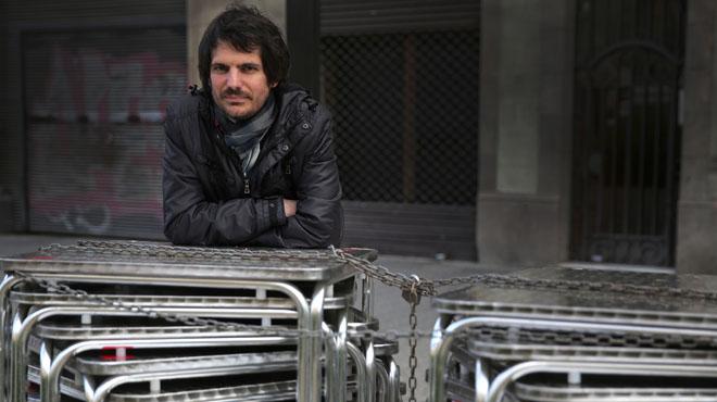 Ernest Urtasun, eurodiputat i portaveu d'ICV,parla sobre Podem, la CUPi la crisi dels refugiats.