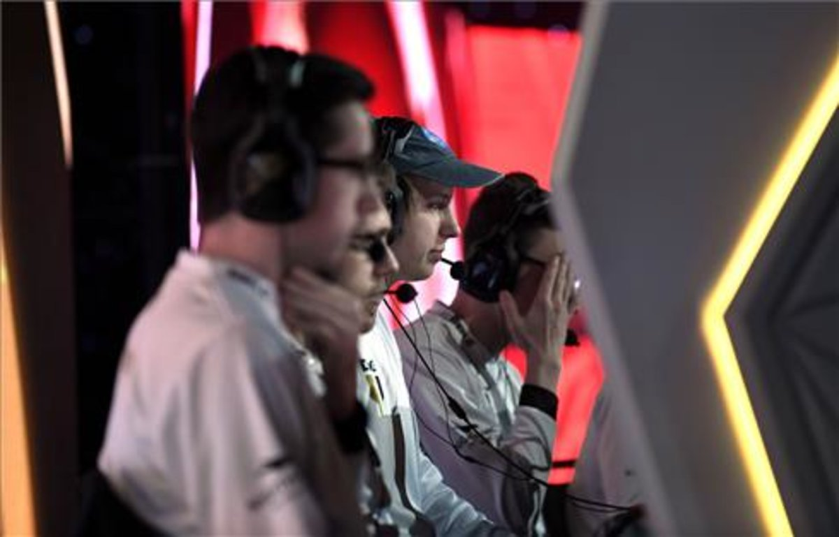Foto de la final de Call of Duty World League, celebrada la semana pasada en California.
