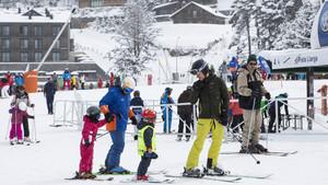 Los destinos de nieve y esquí son los que mejores registros muestran y, en algunos, la ocupación ha llegado ser completa.