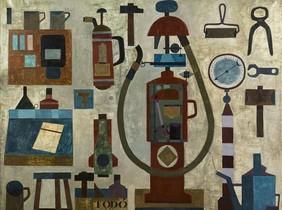 'Estació de servei' (1960), de Francesc Todó.
