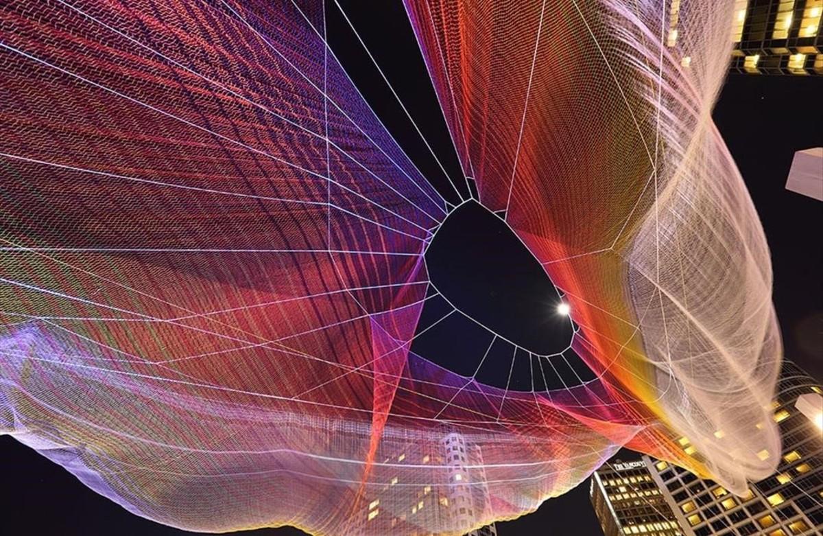 Estudios tecnológicos deGoogle Data Arts, en el Sónar+D.