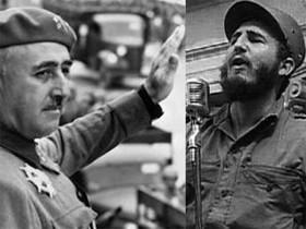 Una imagen del reportaje de 30 minuts Franco i Fidel, una amistat incòmoda.