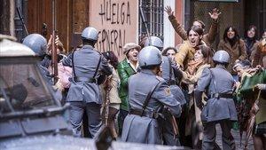 Fotograma de la película 'Vitoria, 3 de marzo'