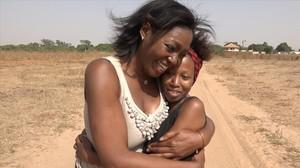 La periodista Francine Gálvez, en su viaje a Senegal con Tribus viajeras (La 2).
