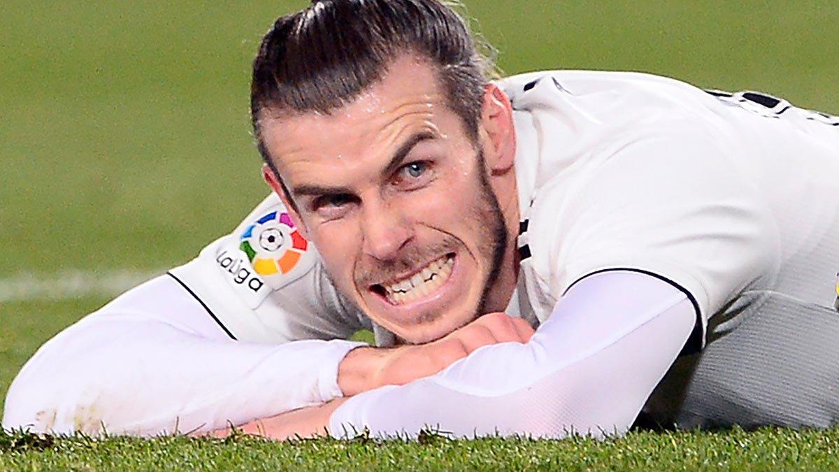Gareth Bale, en un partido con el Madrid.