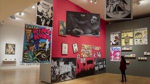 Una imagen de la exposición 'Contracultura. Resistencia, utopía y provocación en València', en el IVAM.