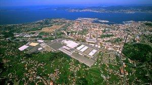Imagen aérea de Vigo