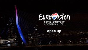 Imagen del vídeo con el que la UER ha confirmado que Eurovisión 2021 se celebrará en Róterdam (Países Bajos).