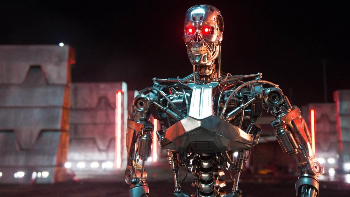 Imagen de la película Terminator Génesis, del 2015.