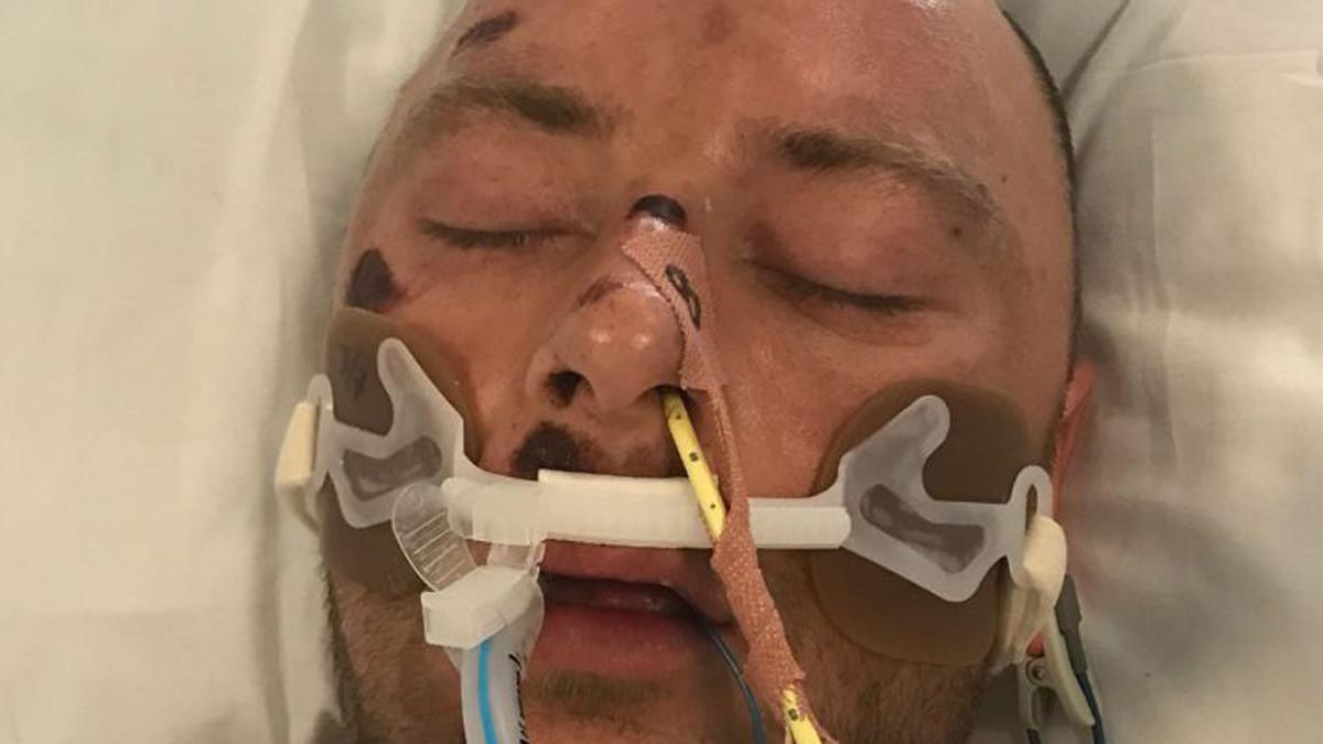 La imagen del hombre que ha difundido la Policía para lograr indentificarle.