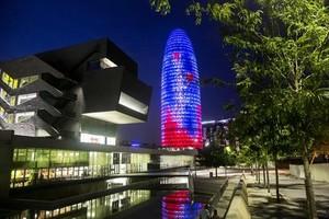 Imagen de la torre Glòries,una de las operaciones realizadas durante el 2017.