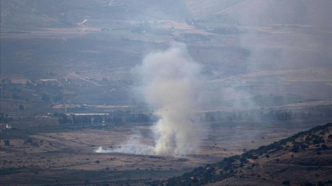 Ataque israelí a posiciones militares de Hamás.