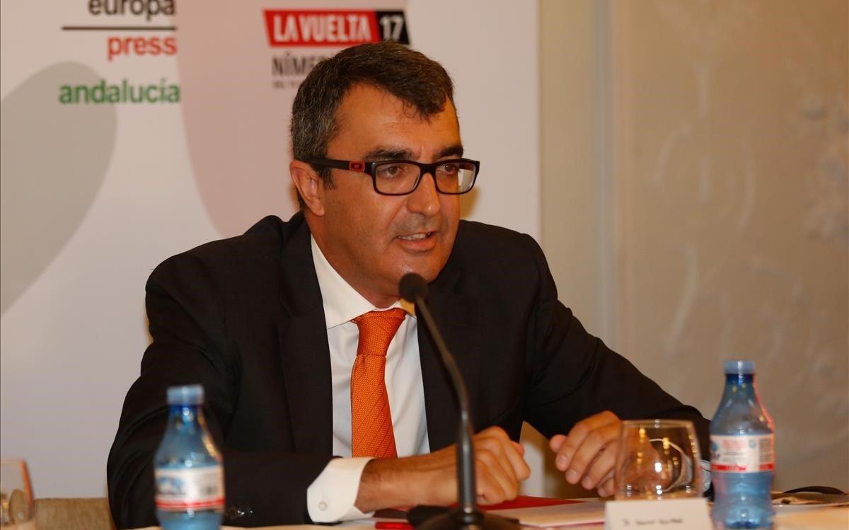 Javier Guillén, director de la Vuelta en una imagen de archivo