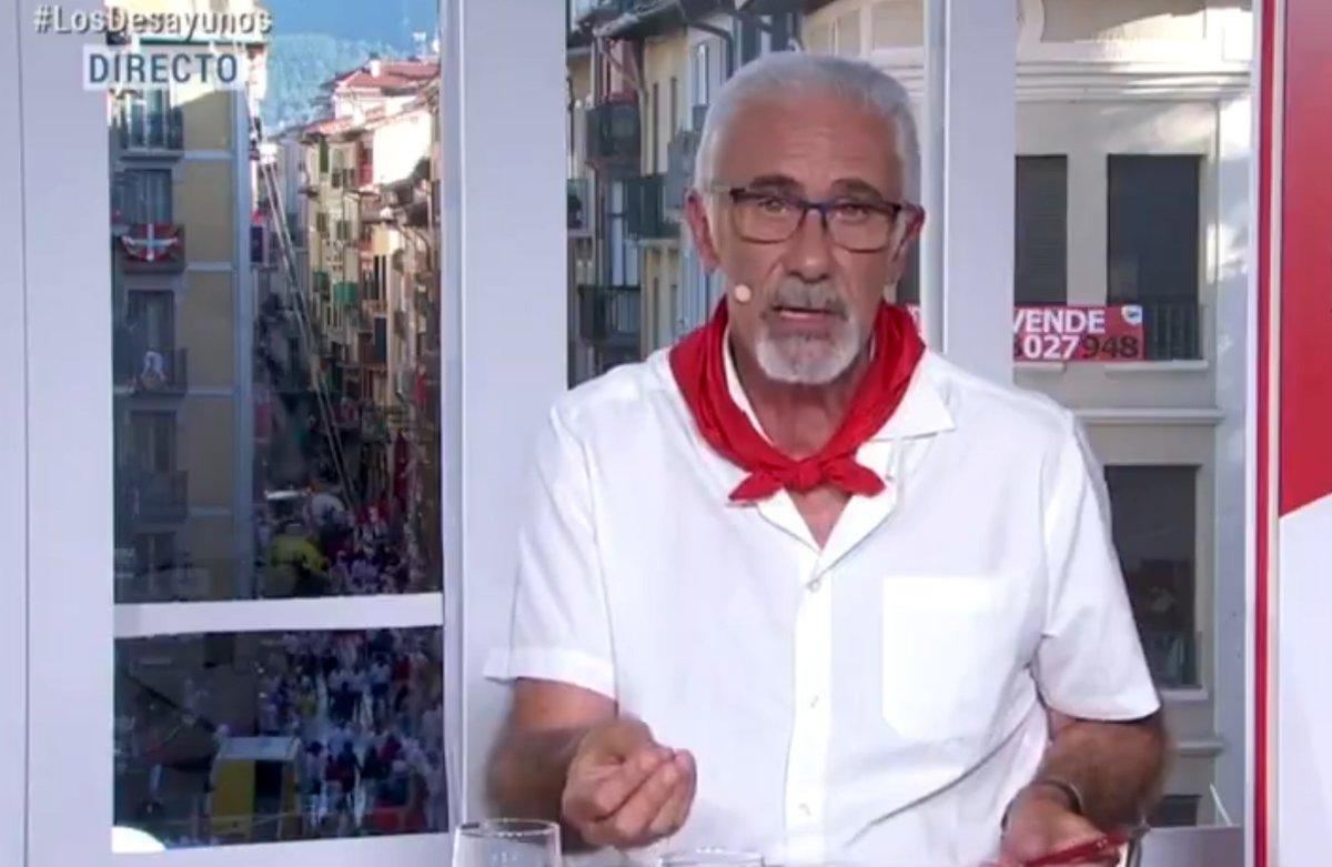 El narrador dels 'encierros' a TVE demana perdó pel seu comentari sobre 'La manada'