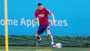 Messi: dia 1 amb Koeman