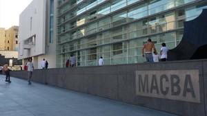 La fachada del Macba, uno de los centros afectados por la reclamación de la devolución del IVA de las subvenciones culturales.
