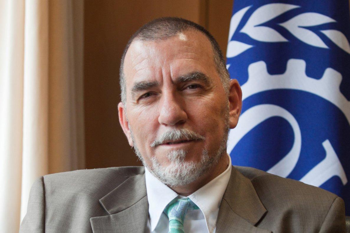 Joaquín Nieto es el director de la oficina en España de la Organización Internacional del Trabajo
