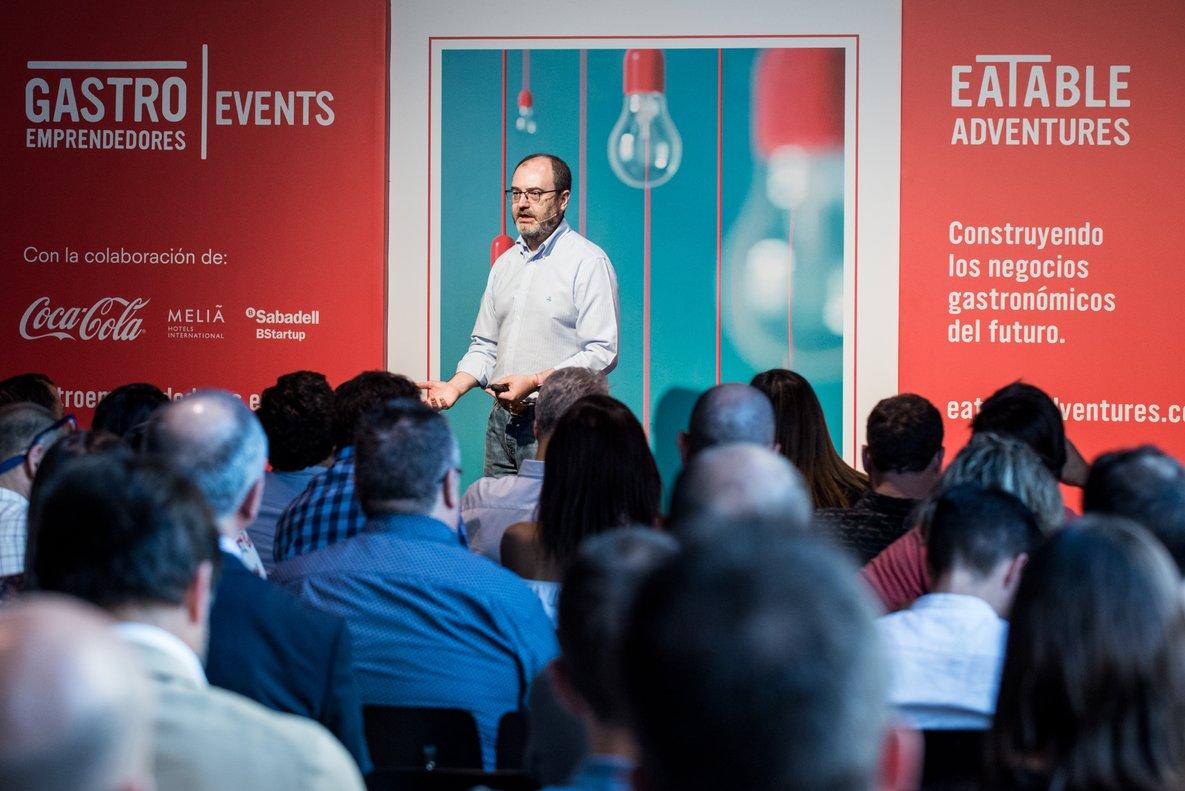 JoséLuis Cabañero, fundador yCEO de Eatable Adventures.// Eatable Adventures
