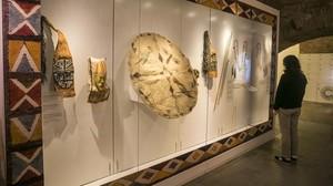 Inauguración de la exposición Catazonia en el Museu de Cultures del Món
