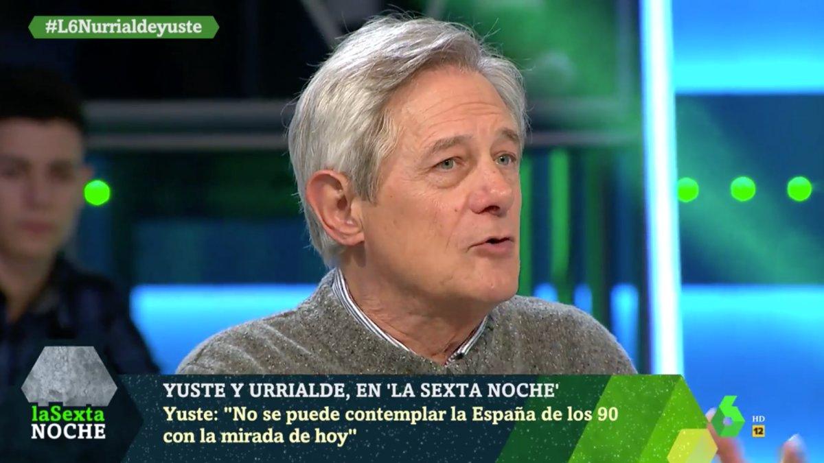 Josema Yuste en 'laSexta Noche'.