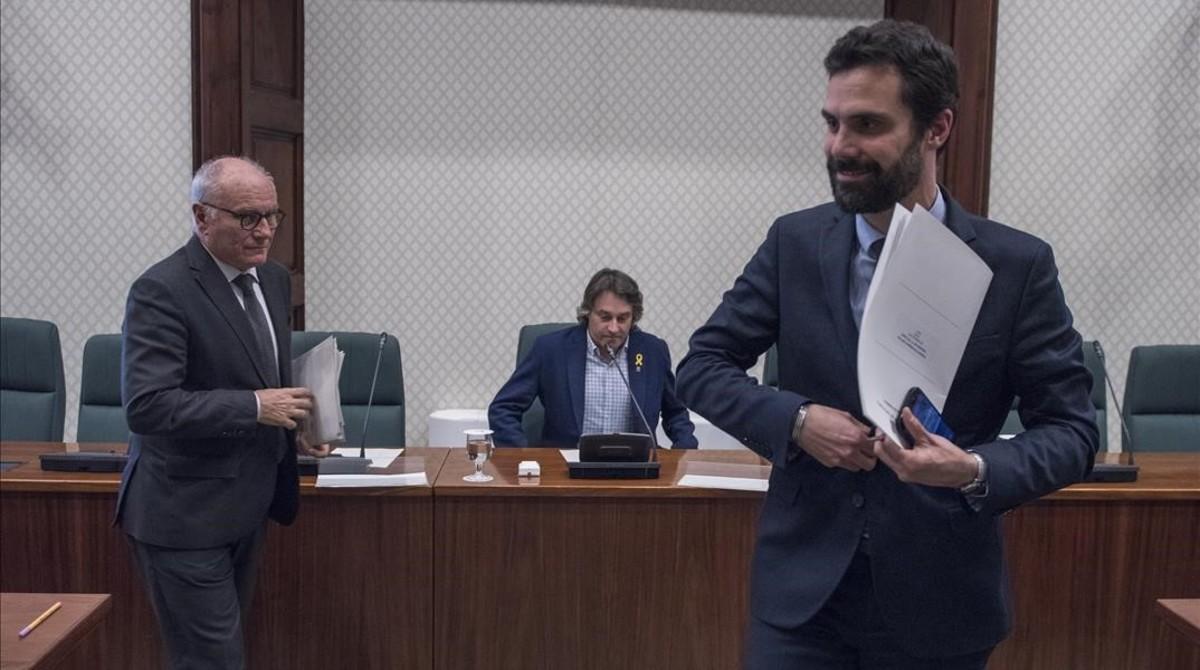 Constitución de la Comisión para la investigación de los atentados del 17-A en el Parlament.