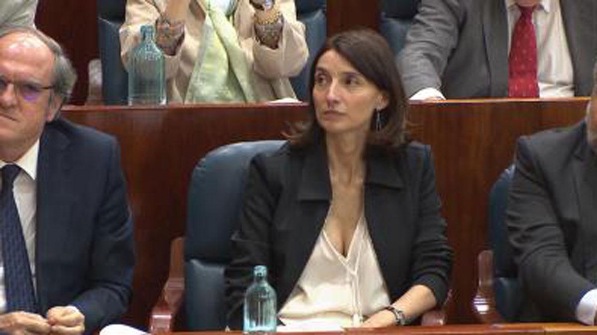 La juezaPilar Llop, candidata del PSOE para presidir el Senado.