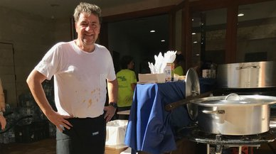 Koldo Royo, de estrella Michelín a cocinero del desastre de Mallorca