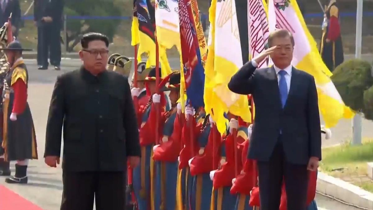 Las dos Coreas acuerdan reunirse en septiembre.